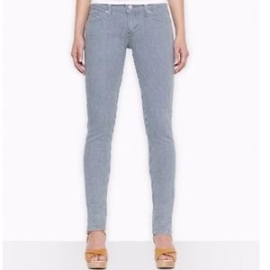 Levi's Too Superlow 524 Pinstripe/Painter Jeans